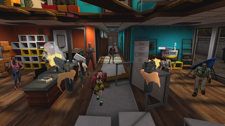 VR射击游戏「Zombieland:Headshot Fever」Oculus Quest版即将发布