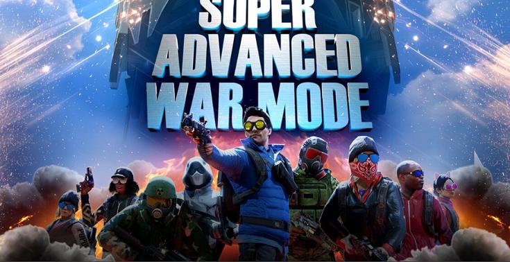 "VR""吃鸡""游戏「Population: One」""Super Advanced War Mode""活动已开启"