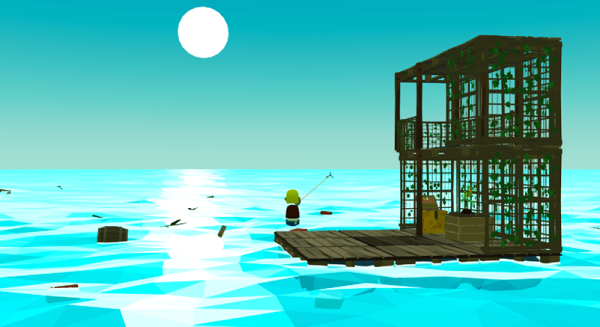 "VR海洋生存游戏""OceanCraft""抢先体验版即将上线Steam"
