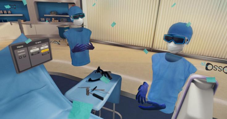 美国VR医学培训平台奥索VR增加介入手术和内窥镜功能模块
