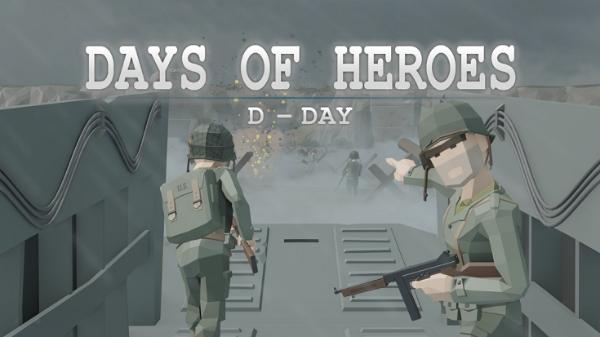 二战VR军事射击游戏《英雄的日子——:D日》登陆Oculus应用商店