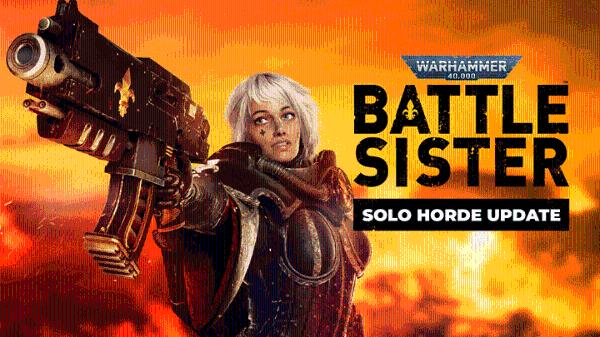 "VR射击游戏「Warhammer 40K:Battle Sister」发布全新更新""Last Bastion"""