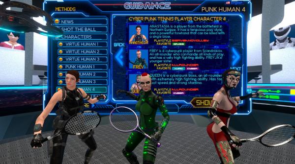 DIY养成人工智能角色:VR体育游戏「CYBER TENNIS」登陆Oculus应用商店
