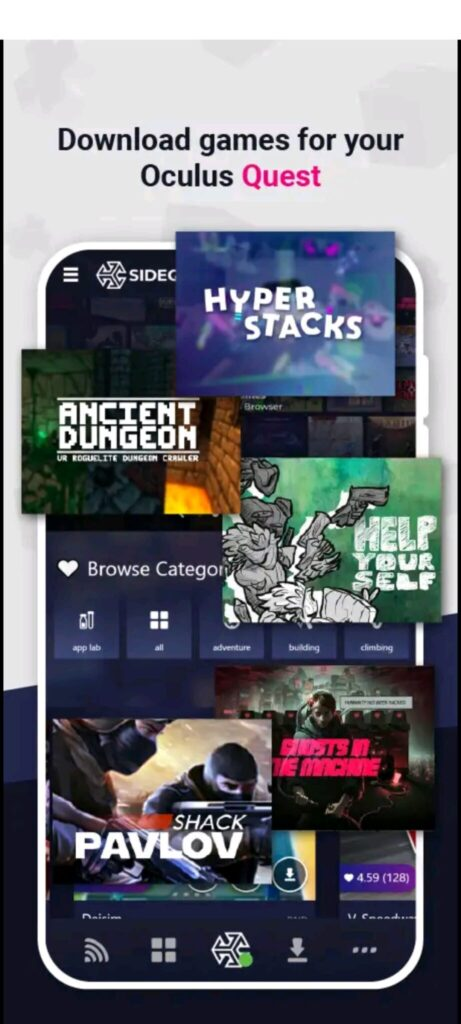 支持手机无线侧载:SideQuest发布安卓版本