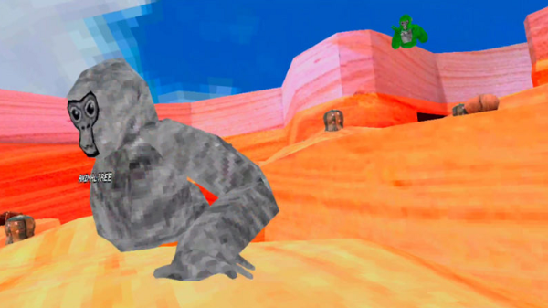 "VR跑酷游戏「Gorilla Tag」推出全新""峡谷地图"""