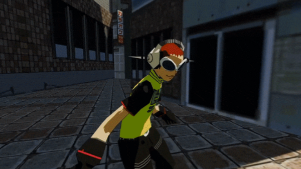 VRChat玩家自制:来「Jet Set Radio Future」VR版体验嘻哈文化