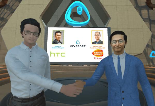 万代南梦宫电影与HTC达成合作 为Viveport提供动画内容