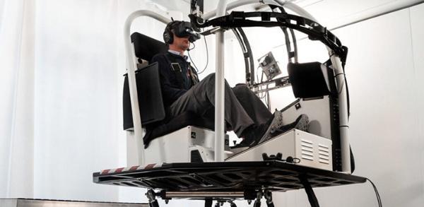 欧洲航空安全局颁发首个直升机VR模拟飞行训练设备证书