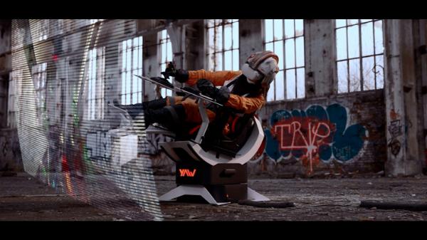 VR运动模拟器Yaw 2登陆Kickstarter众筹平台