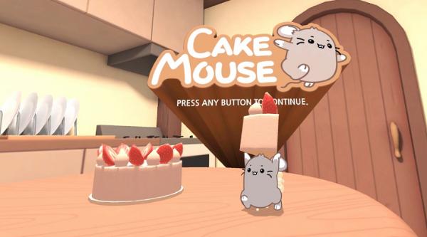 """基于""""打地鼠""""玩法,VR休闲游戏「Cake Mouse」登陆Oculus应用商店"""