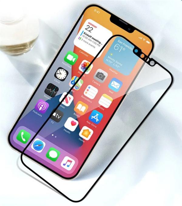 iPhone13胶片曝光:这个刘海真的很小吗