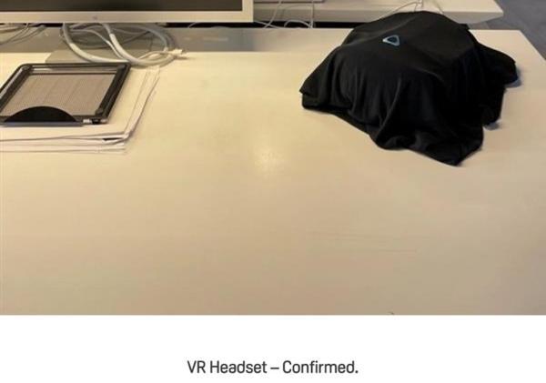 HTC VIVE曝光神秘产品图,暗指下一款VR头显