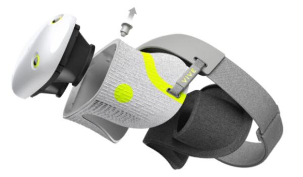 HTC概念VR头显Vive Air获德国iF设计奖