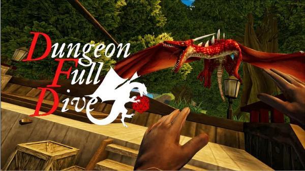 VR版《地下城全潜》冒险游戏《地下城全潜》发布首个预告片
