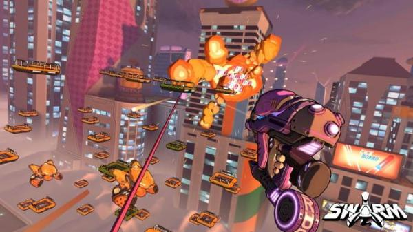 VR射击游戏「Swarm」将于4月8日登陆Oculus应用商店