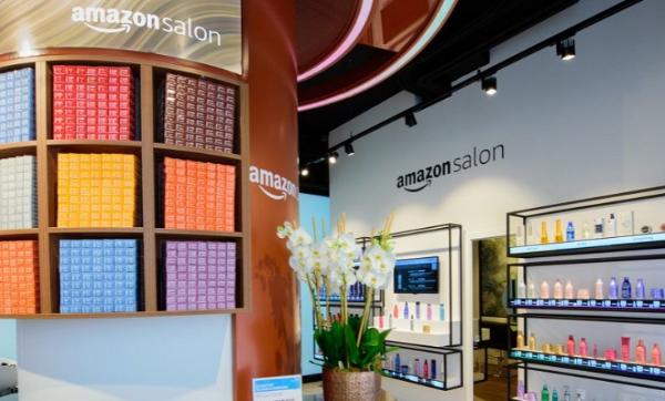 亚马逊伦敦AR美发沙龙正式开业