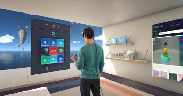 微软正在开发可将物理对象自动转换为数字模型的VR检测系统