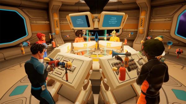 VR太空冒险游戏「Spaceteam VR」周年庆,全新虚拟化身、道具待你体验