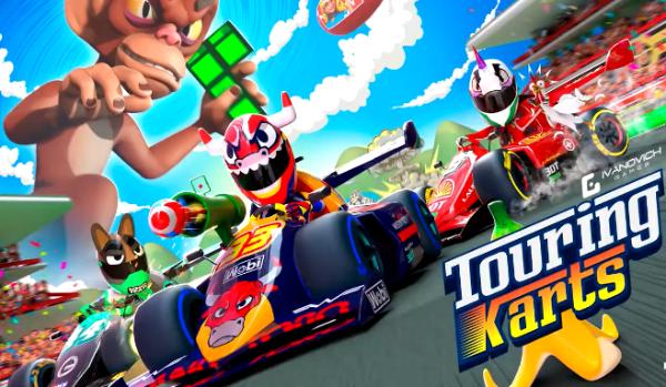 VR赛车游戏「Touring Karts」免费登陆App Lab