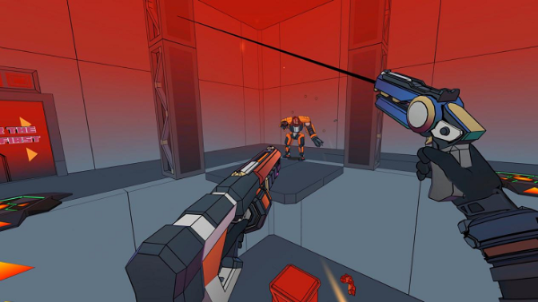 消灭邪恶机器霸主:VR roguelite游戏「Sweet Surrender」值得关注