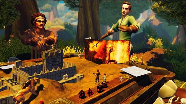 超28.5万美元:在线VR桌面游戏平台「Dungeon Full Dive」完成Kickstarter众筹