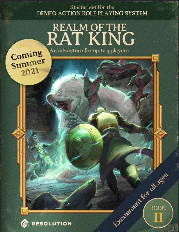 "VR桌游「Demeo」最新DLC""Book 2: Realm of the Rat King""即将发布"