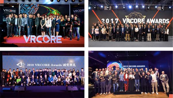 2021 VRCORE Awards硬核升级,今日开启!