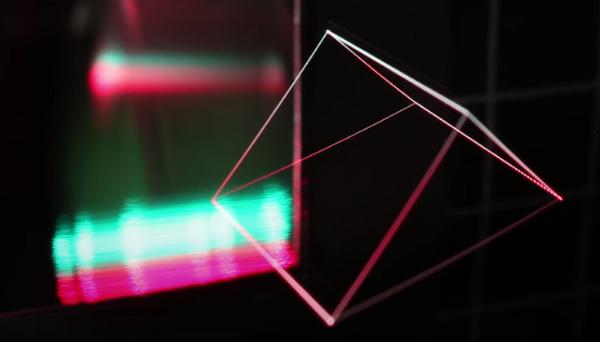 无需AR头显即可查看:美国杨百翰大学电子全息实验室正在开发基于激光束的3D全息图