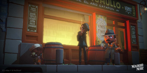 VR互动动画电影「Madrid Noi」即将登陆Oculus Quest