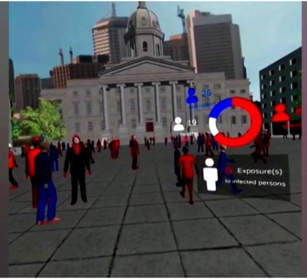 丹麦哥本哈根大学研究人员通过VR游戏宣扬新冠肺炎疫苗接种重要性