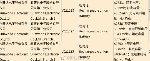 iPhone 13入网 电池容量终于增加了