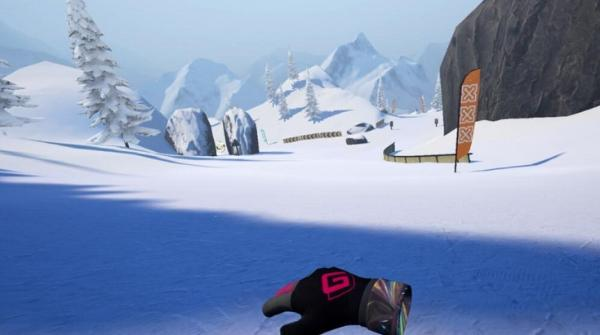 VR单板滑雪游戏「Carve Snowboarding」登陆Oculus Quest