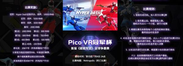 Pico 布局VR电竞,首届「超能军团」争霸赛热力开启