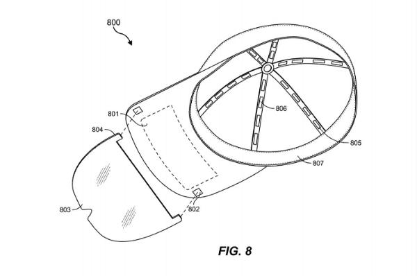 "Facebook公布""基于帽子形状的全新VR/AR头戴设备设计""申请专利"