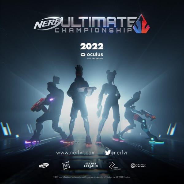 E3 2021:Secret Location宣布新款VR游戏「NERF Ultimate Championship」