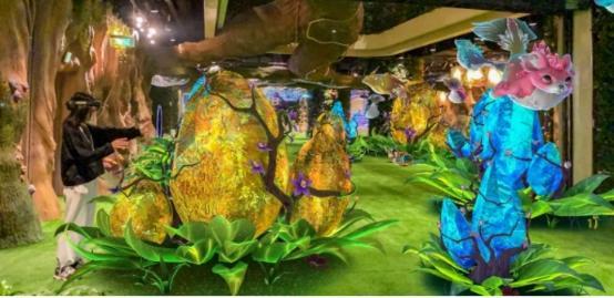"""""""现实+虚拟""""的奇妙之旅:UtopaXR大空间SLAM技术打造全球最大""""生命之树AR公园"""""""