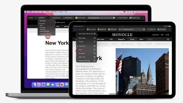 全新macOS发布:浏览器大升级 多终端彻底打通