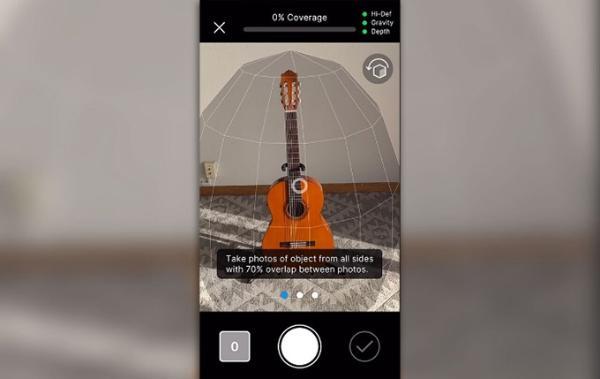 支持苹果Object Capture:Unity发布最新AR智能应用