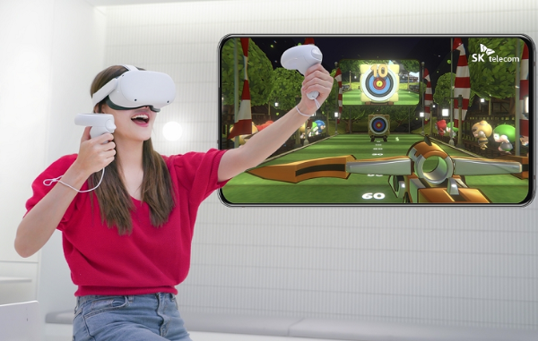 SK电讯宣布旗下Quest体育游戏「Crazy World VR」6月9日发布