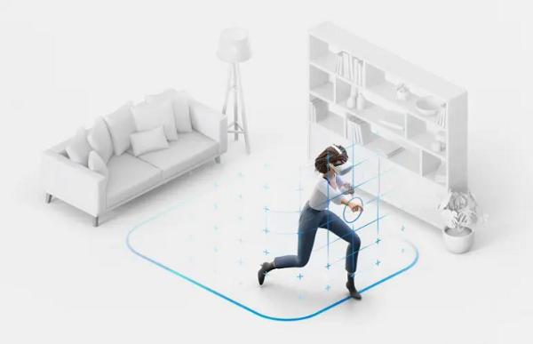 Oculus Quest v30支持用户在任意方向设置15米Guardian边界