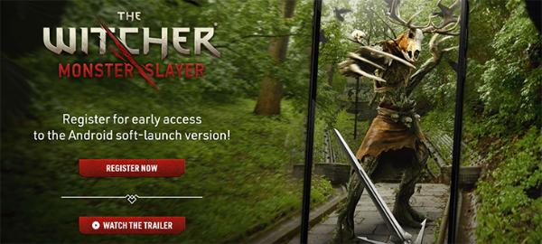 官宣!LBE AR手游「巫师:怪物杀手」7月21日免费登陆iOS和安卓