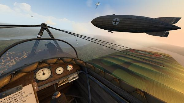 热门App Lab游戏「Warplanes:WW1 Fighters」即将登陆Oculus Store