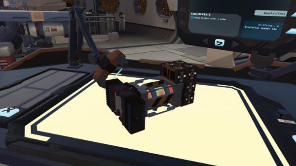 VR太空益智游戏「Arcsmith」将于7月29日登陆Oculus Quest