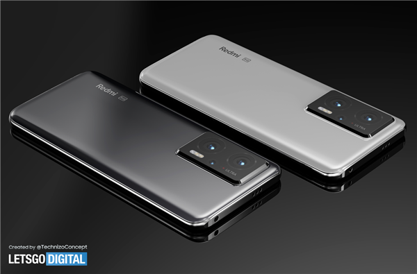 Redmi Note 11 Pro概念图曝光:好看!
