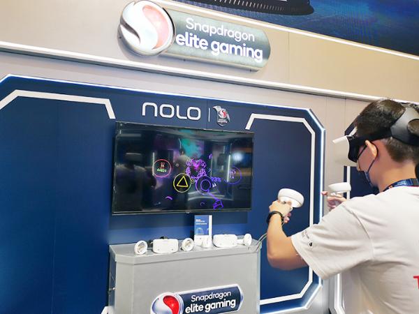 NOLO VR携带NOLO Sonic和移动云VR形态亮相2021ChinaJoy