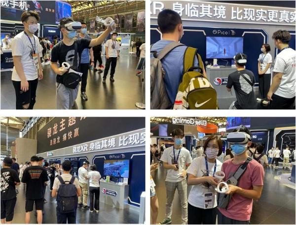 Pico亮相ChinaJoy2021,Neo 3引爆VR新体验