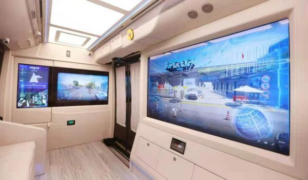 完全自主导航和驾驶,商汤AR小巴通过AI AR的可视化 ,会议期间,景区观光等场景。展现城市未来的产业发展 、提升乘客的乘坐体验。商汤科技首次展示了SenseAuto自动驾驶AR小巴。                            <ul><li><time lang=