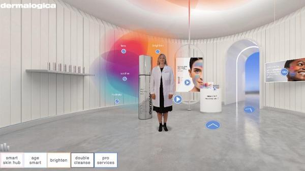 美国护肤品牌德美乐嘉推出VR商店