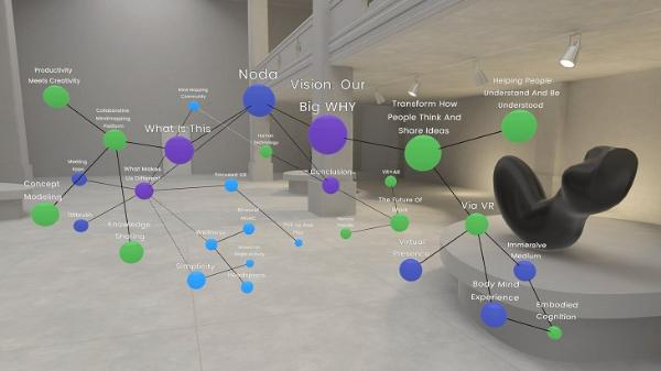 VR思维导图应用Noda即将登陆Oculus Quest
