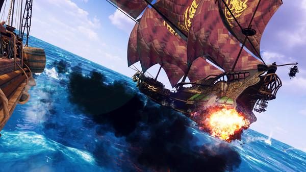 VR海战游戏「狂怒之海」登陆Steam